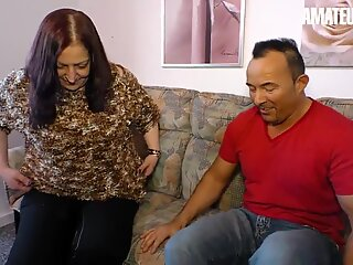 XXX Omas - Newbie BBW Wife Tries Porn With Husband On Cam