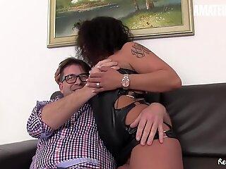 AmateurEuro - Annette Liselotte Indulge In Hot 4way Fun