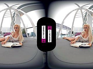 VR BIG FAKE TITS SOLO BIMBO FUCK DOLL VIDEO 3D 180 4K PORN HD - YESBABYLISA