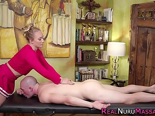 Fat assed masseuse with smalltits plowed