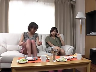 Crazy Japanese slut in Amazing Cunnilingus, Lesbian JAV movie