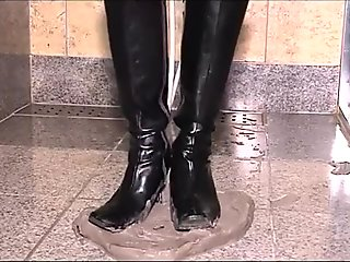 Wet and Messy Boots Scene 04