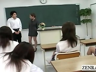 Japanese Classroom Masturbation Show