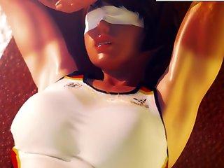 3D gym girl