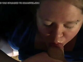 Sexy innocent milf begging daddy for a face full of cum