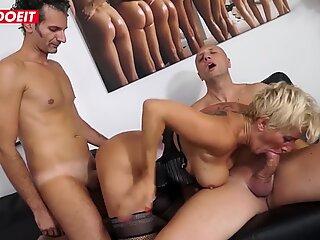 LETSDOEIT - Italian Gilf Doesn't Feel Too Old For Porn Audition