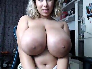 Huge tits webcam