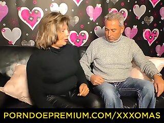 XXX OMAS - Cunnilingus for horny chubby granny