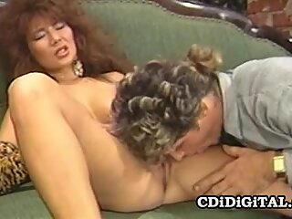 Jade East Asian Twat Riding A White Cock