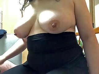 Sexy mature chunky Asian gives great hand job and swallows