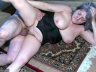 OldNanny Sexy nurse shower granny Granny with gra
